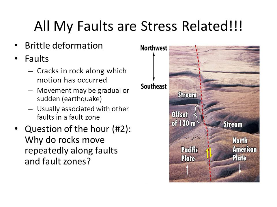 All My Faults are Stress Related!!!