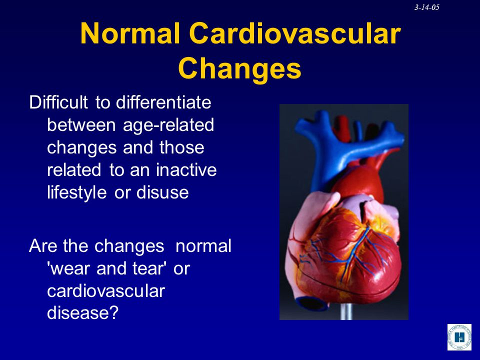 Normal Cardiovascular Changes