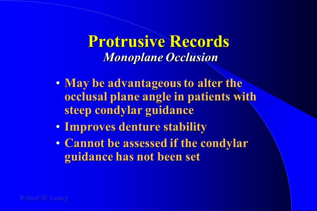 Protrusive Records Monoplane Occlusion