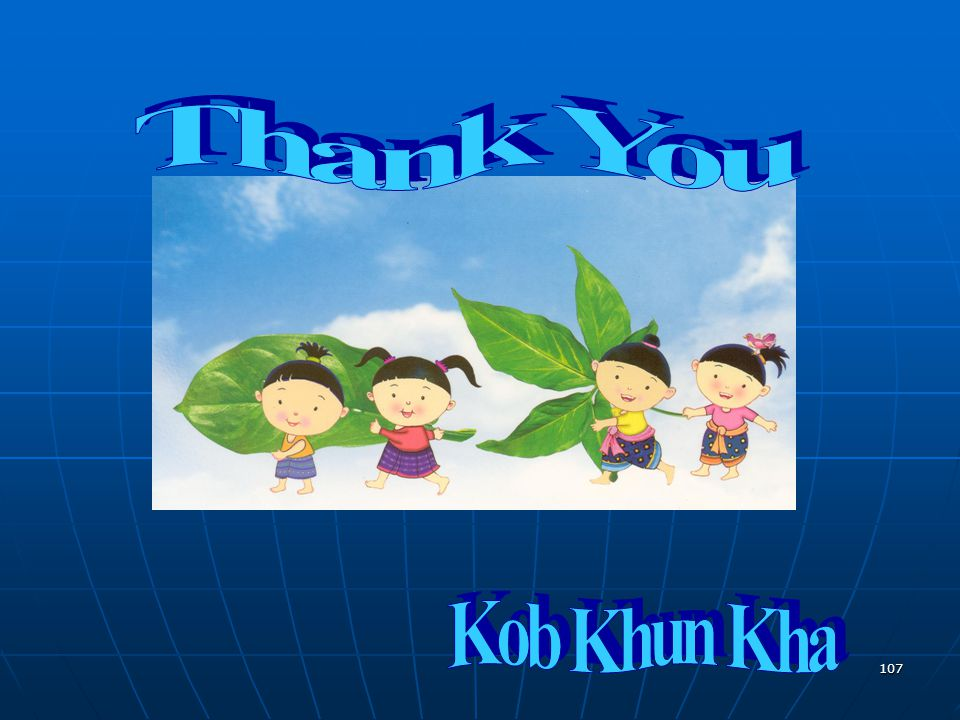 Thank You Kob Khun Kha