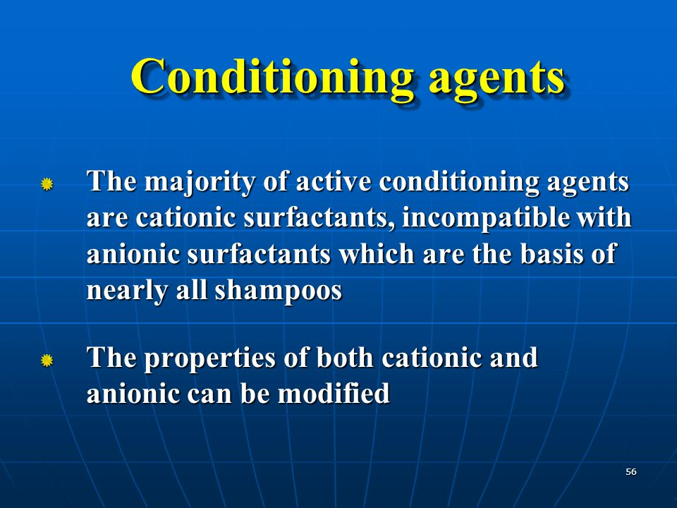 Conditioning agents