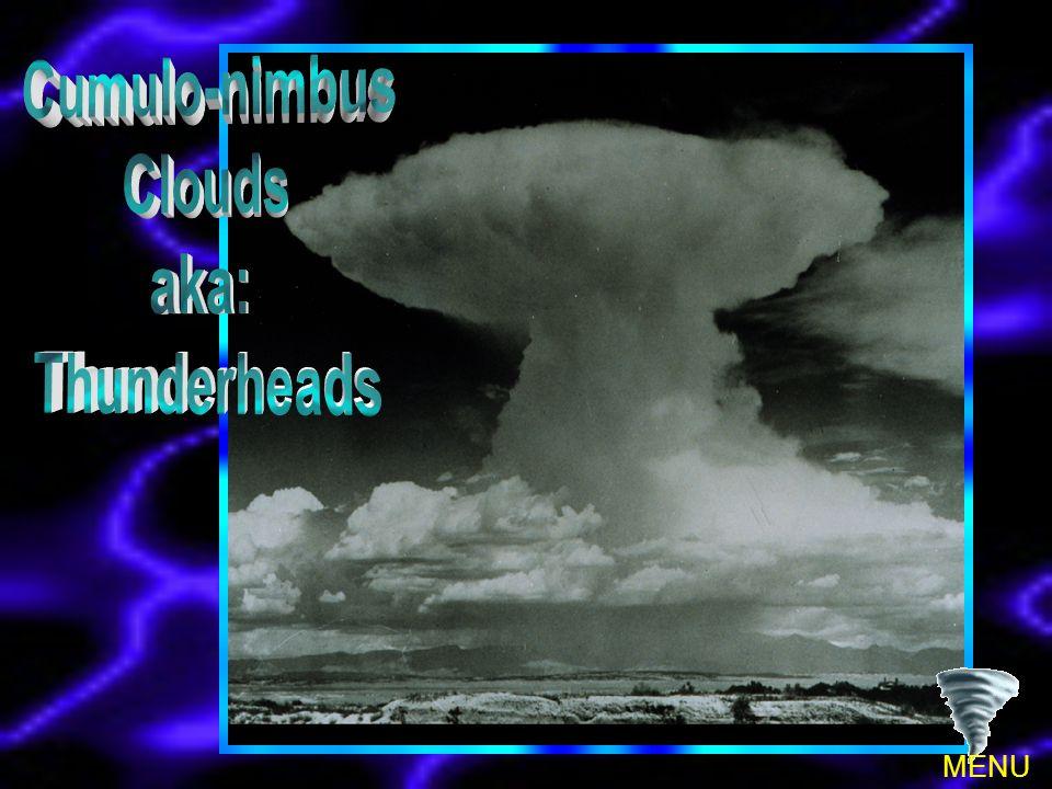 Cumulo-nimbus Clouds aka: Thunderheads