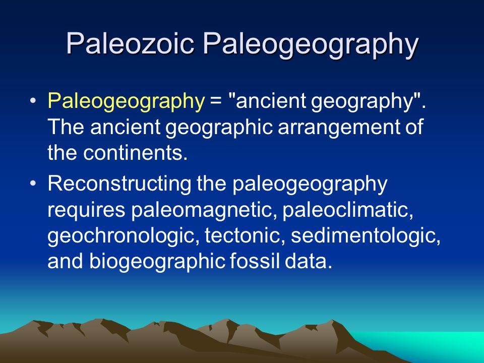 Paleozoic Paleogeography