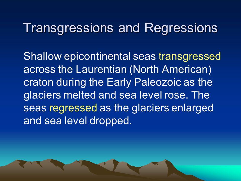 Transgressions and Regressions