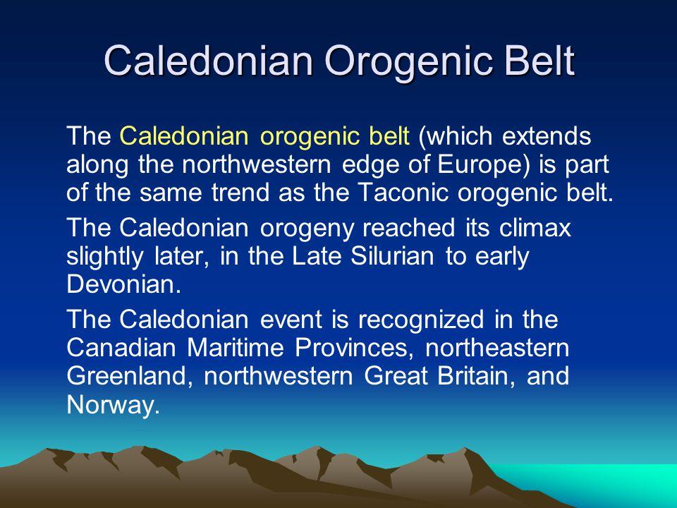 Caledonian Orogenic Belt