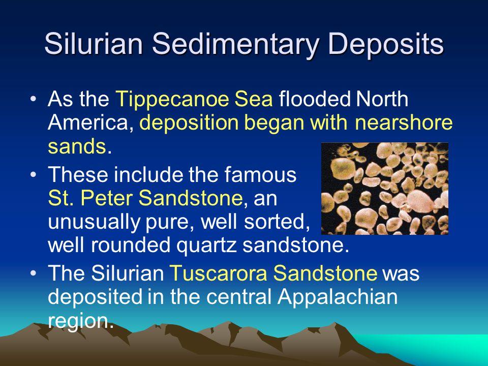 Silurian Sedimentary Deposits
