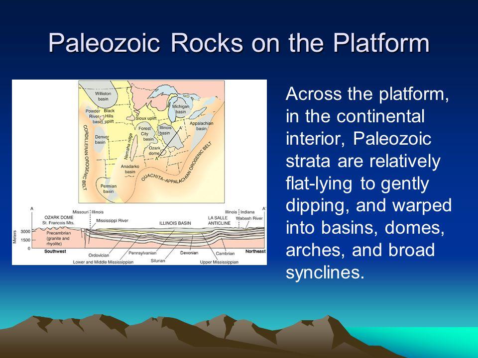 Paleozoic Rocks on the Platform