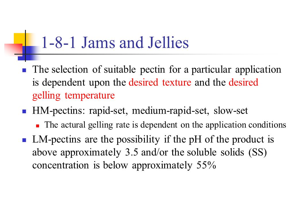 1-8-1 Jams and Jellies