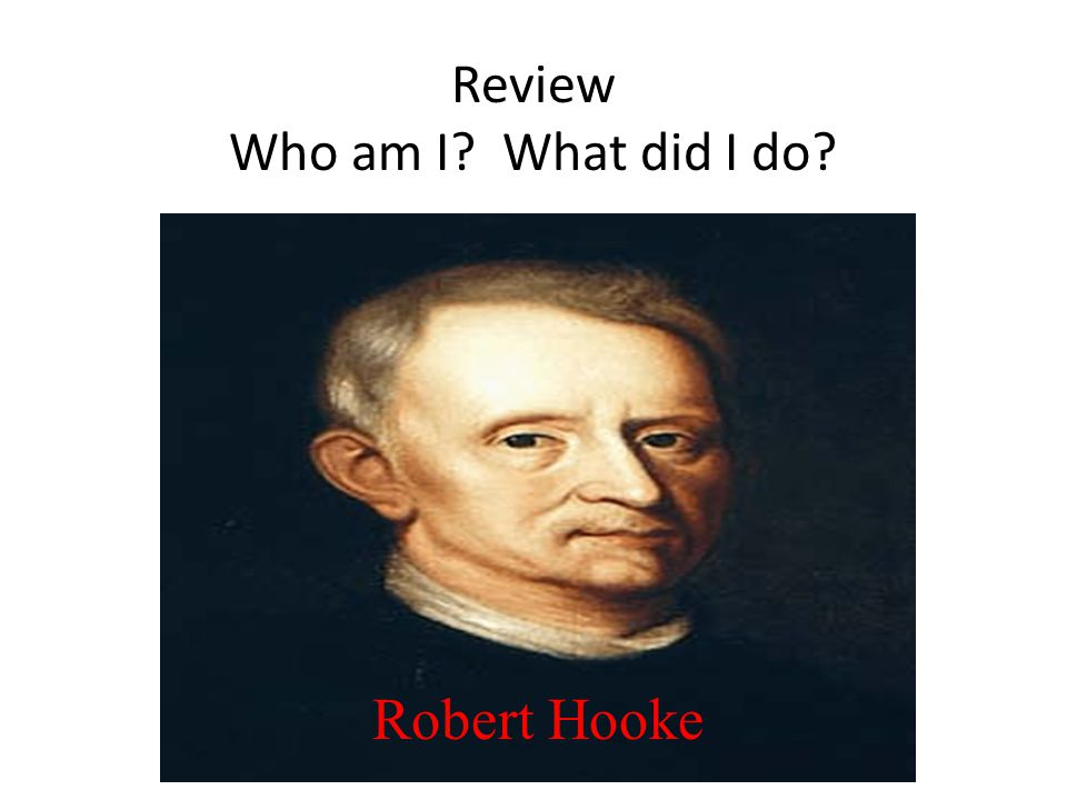 Review Who am I What did I do
