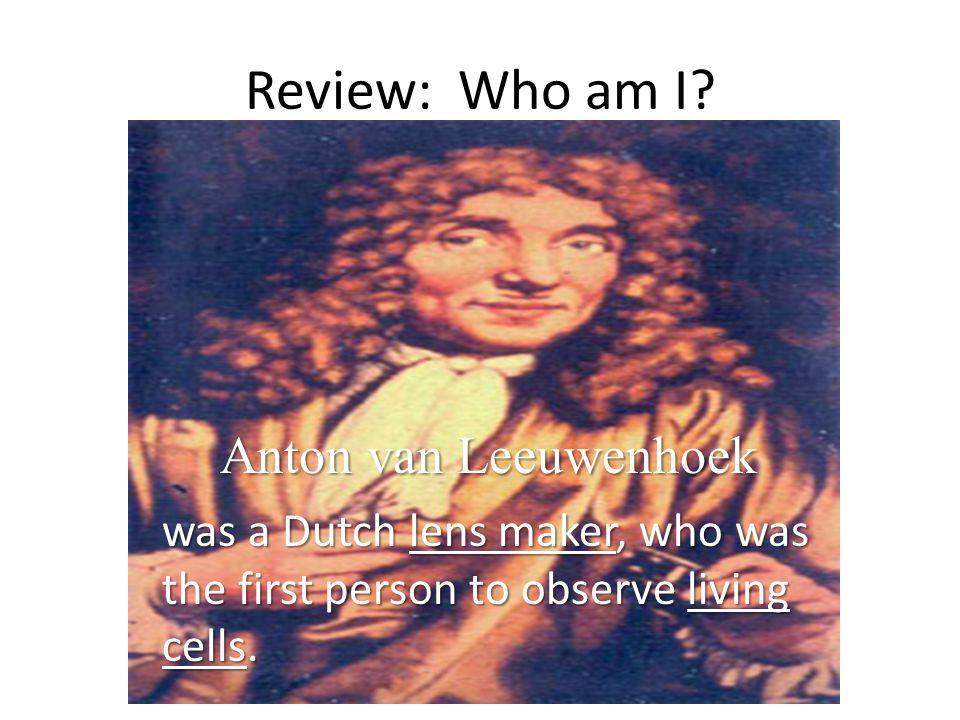 Review: Who am I Anton van Leeuwenhoek