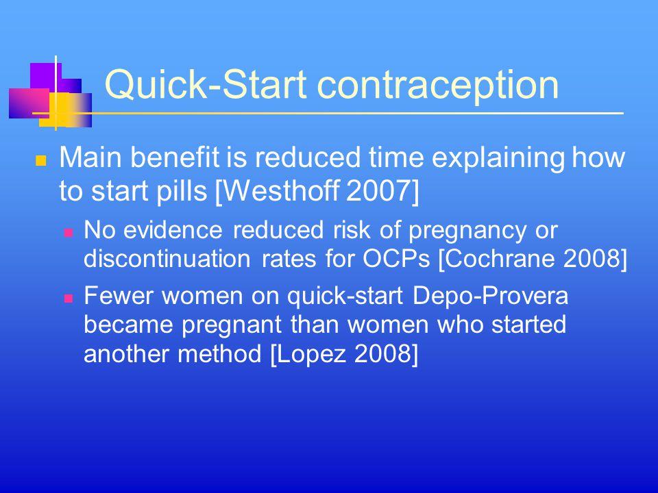Quick-Start contraception
