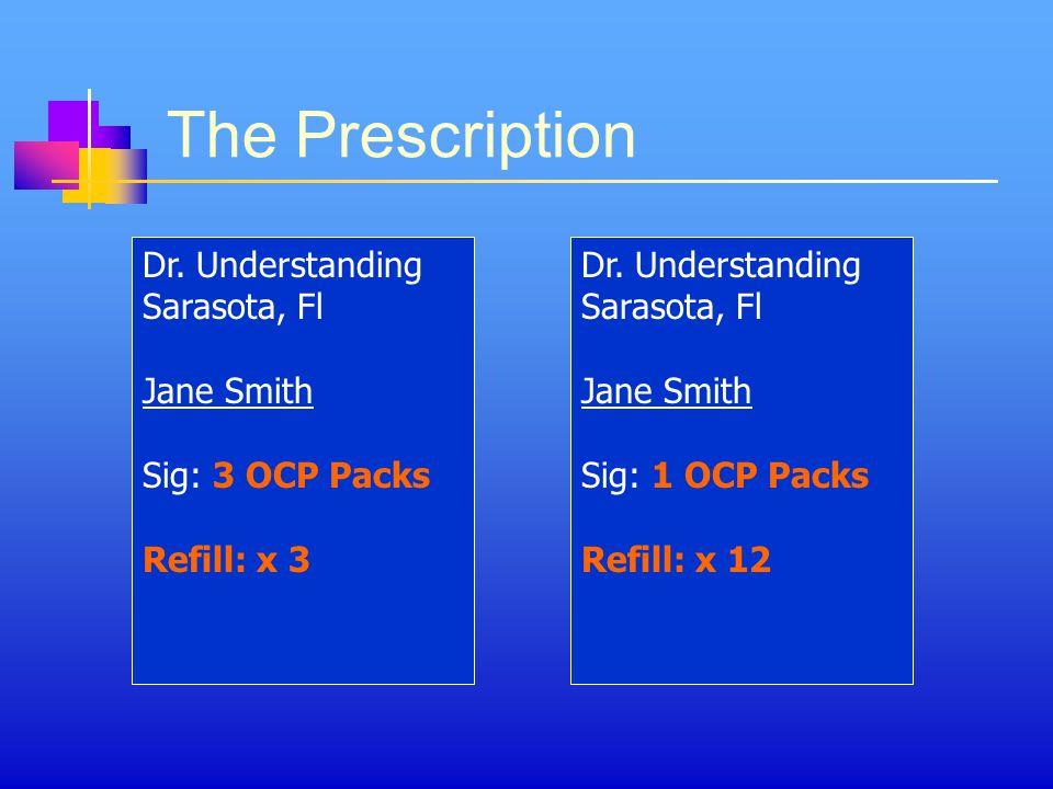The Prescription Dr. Understanding Sarasota, Fl Jane Smith