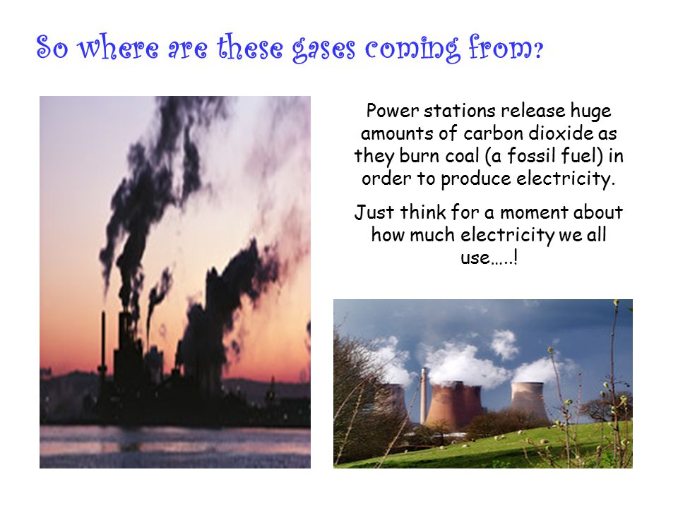 Just think for a moment about how much electricity we all use…..!