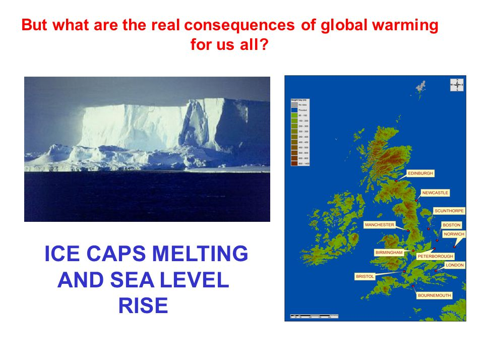 ICE CAPS MELTING AND SEA LEVEL RISE