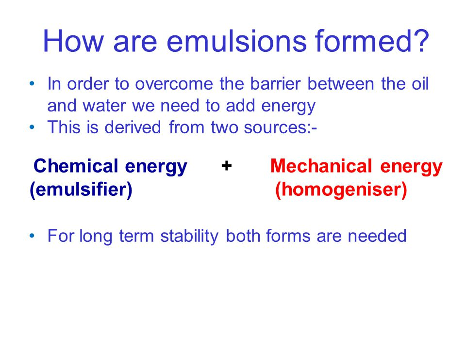 Chemical energy + Mechanical energy
