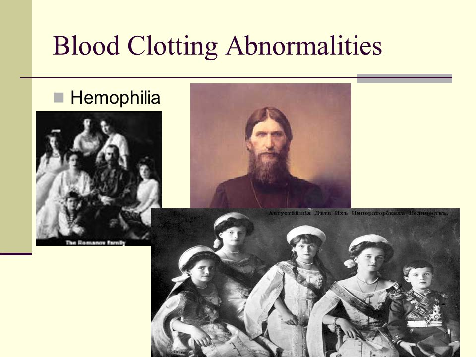 Blood Clotting Abnormalities