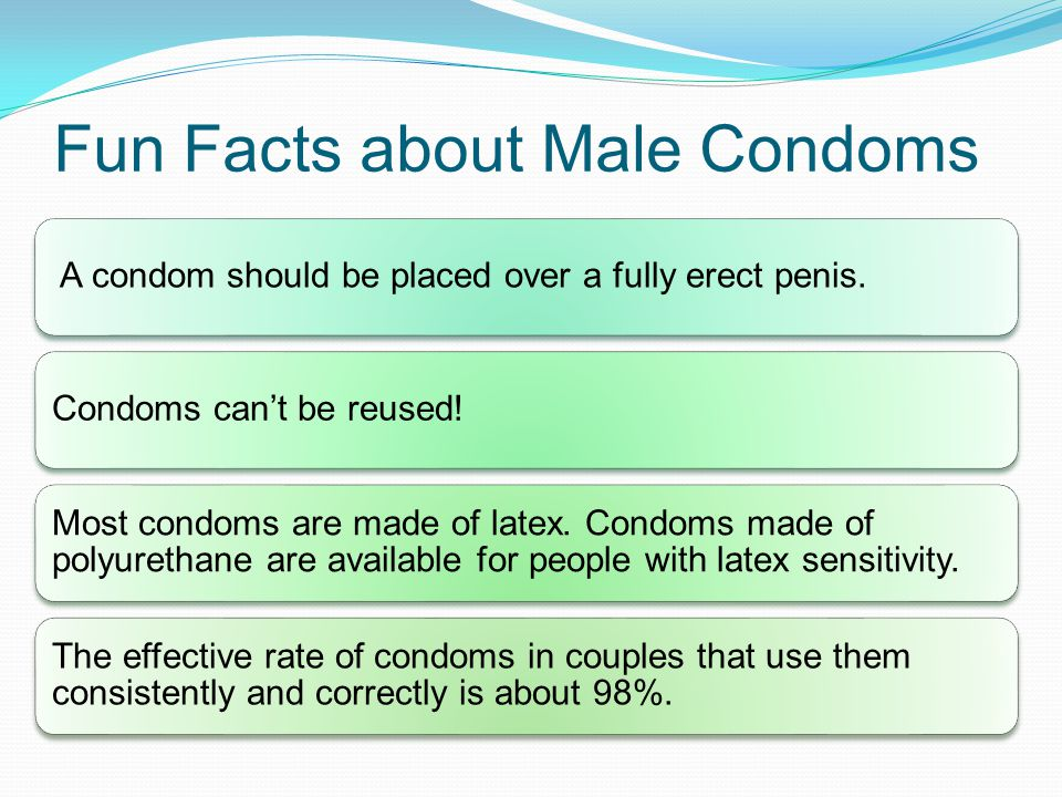 Fun Facts about Male Condoms