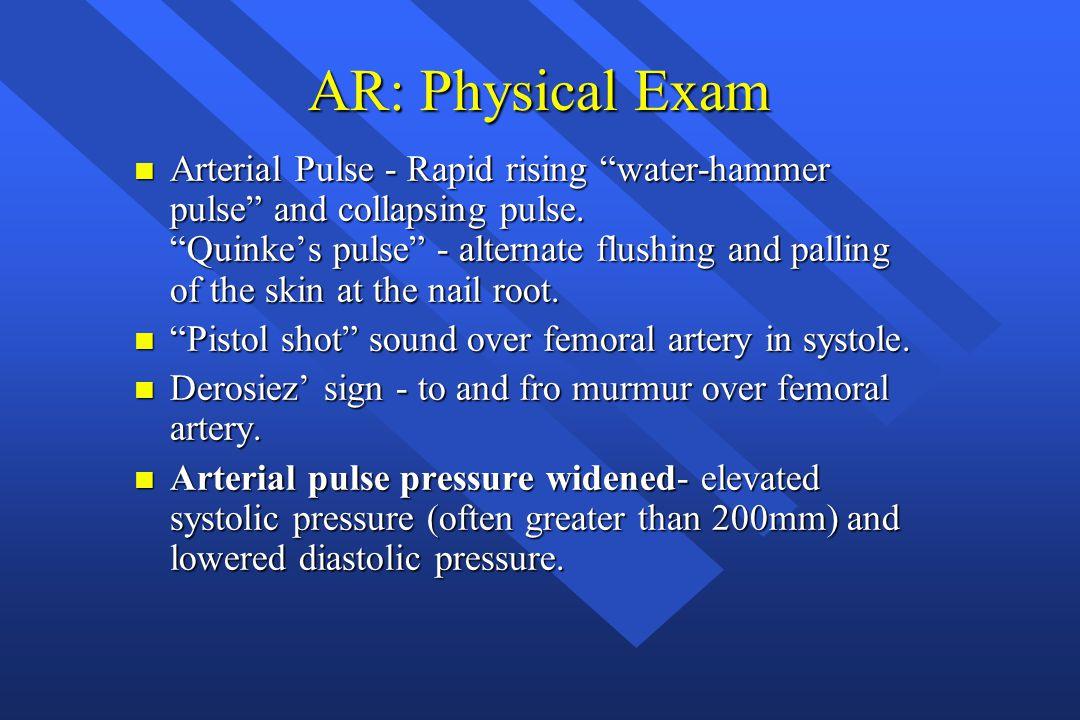 AR: Physical Exam