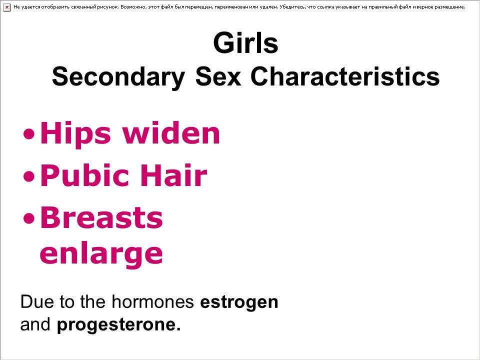 Girls Secondary Sex Characteristics