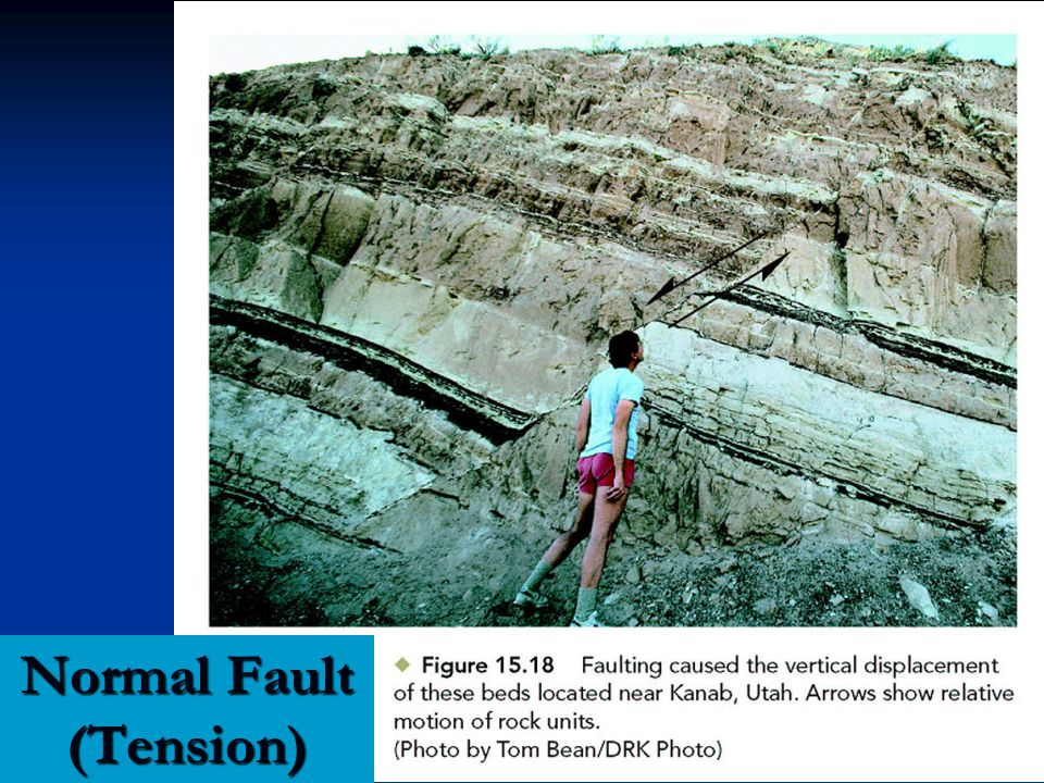 Normal Fault (Tension)