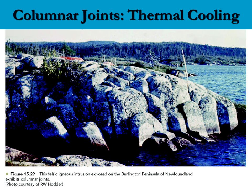 Columnar Joints: Thermal Cooling