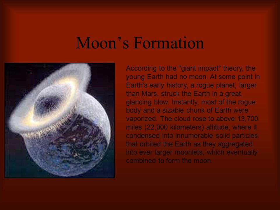 Moon's Formation