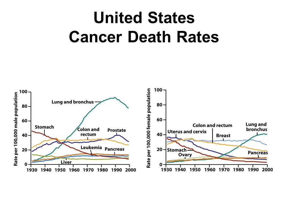 United States Cancer Death Rates