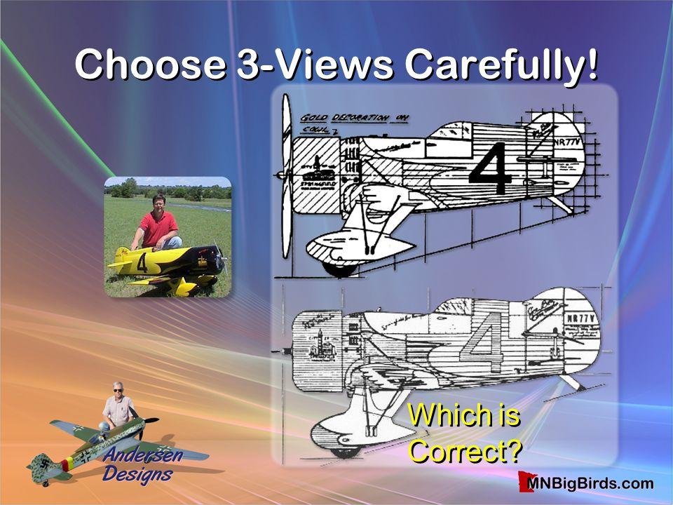 Choose 3-Views Carefully!