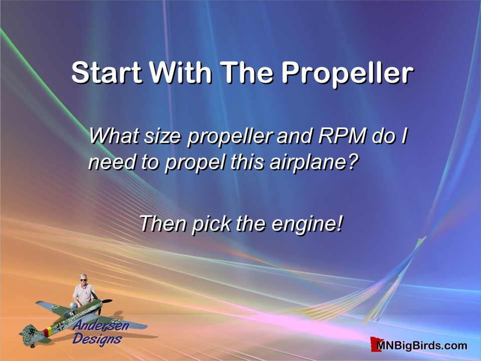 Start With The Propeller
