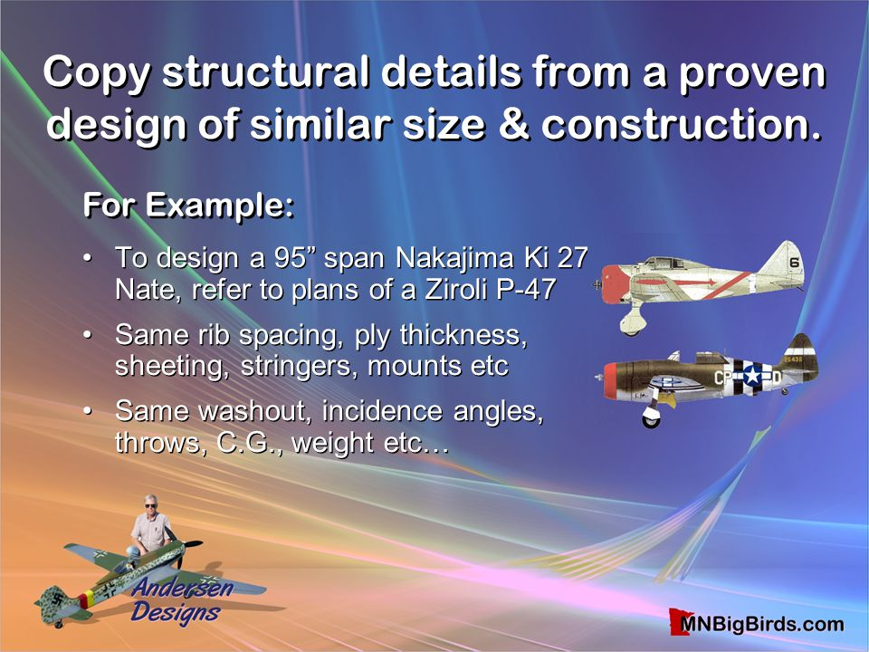 Copy structural details from a proven design of similar size & construction.