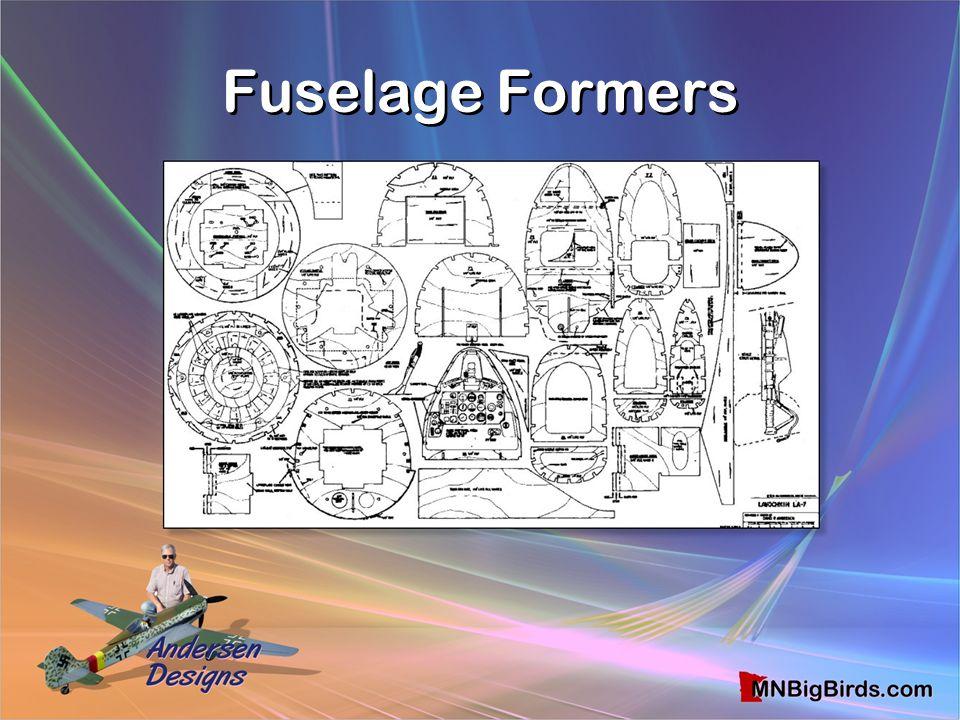 Fuselage Formers