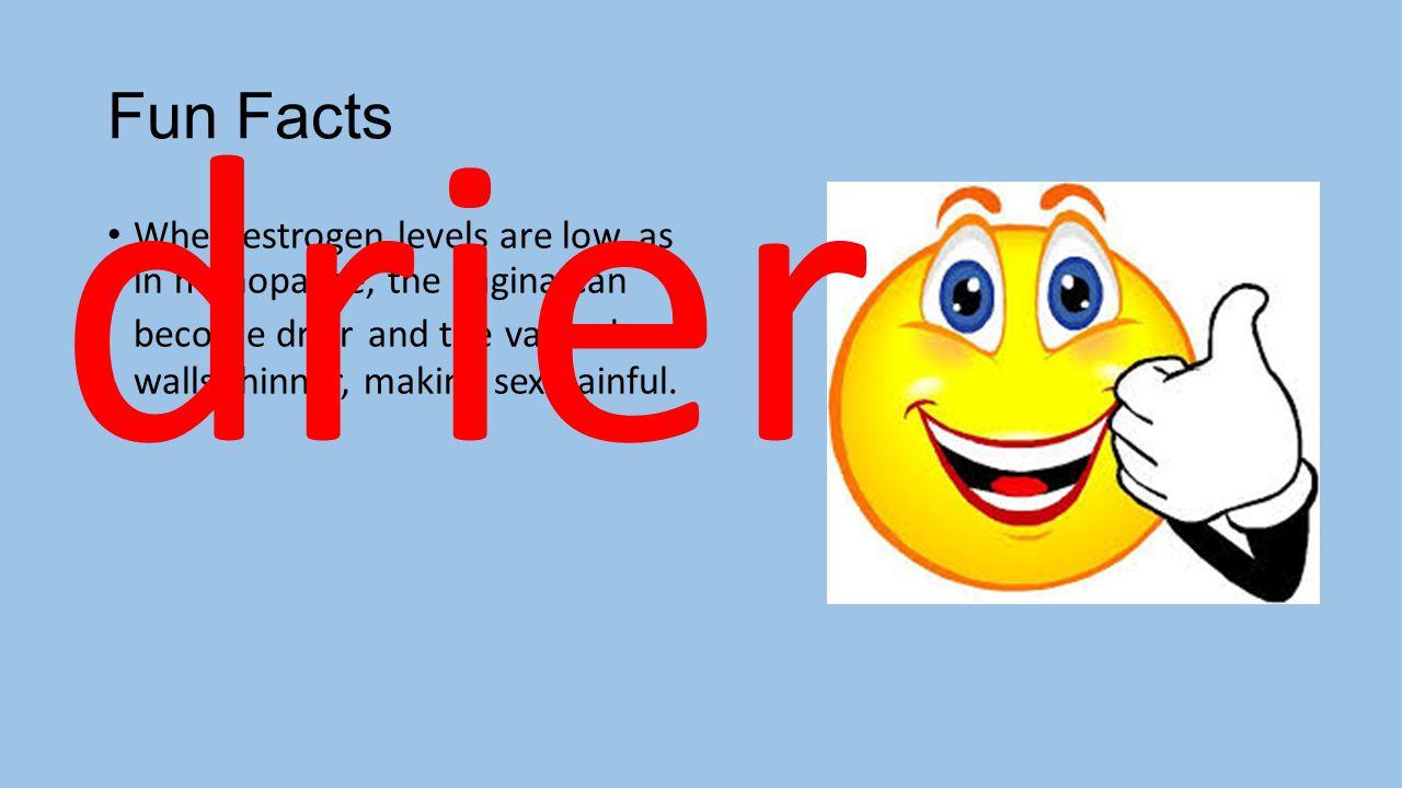 drier Fun Facts.