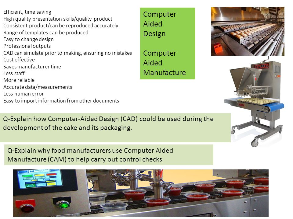 Computer Aided Design Manufacture