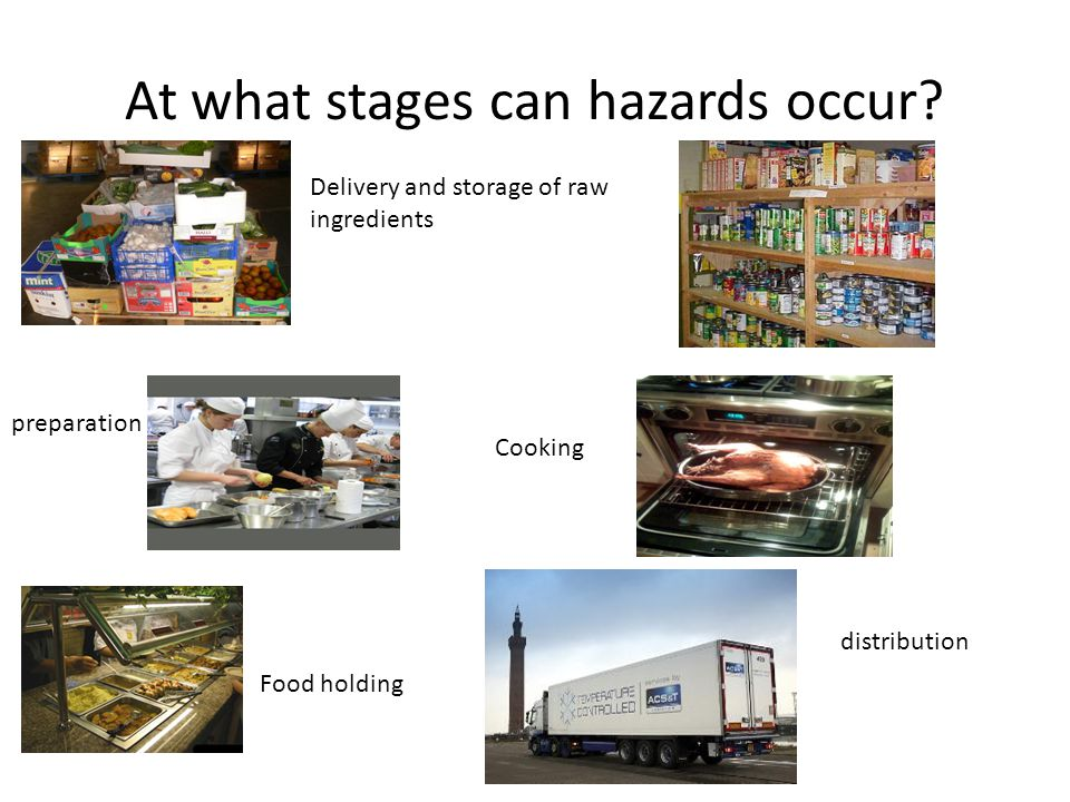 At what stages can hazards occur