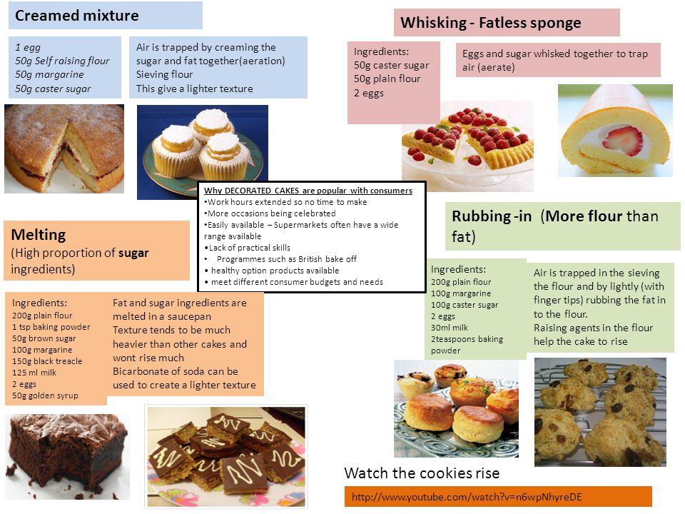 Whisking - Fatless sponge