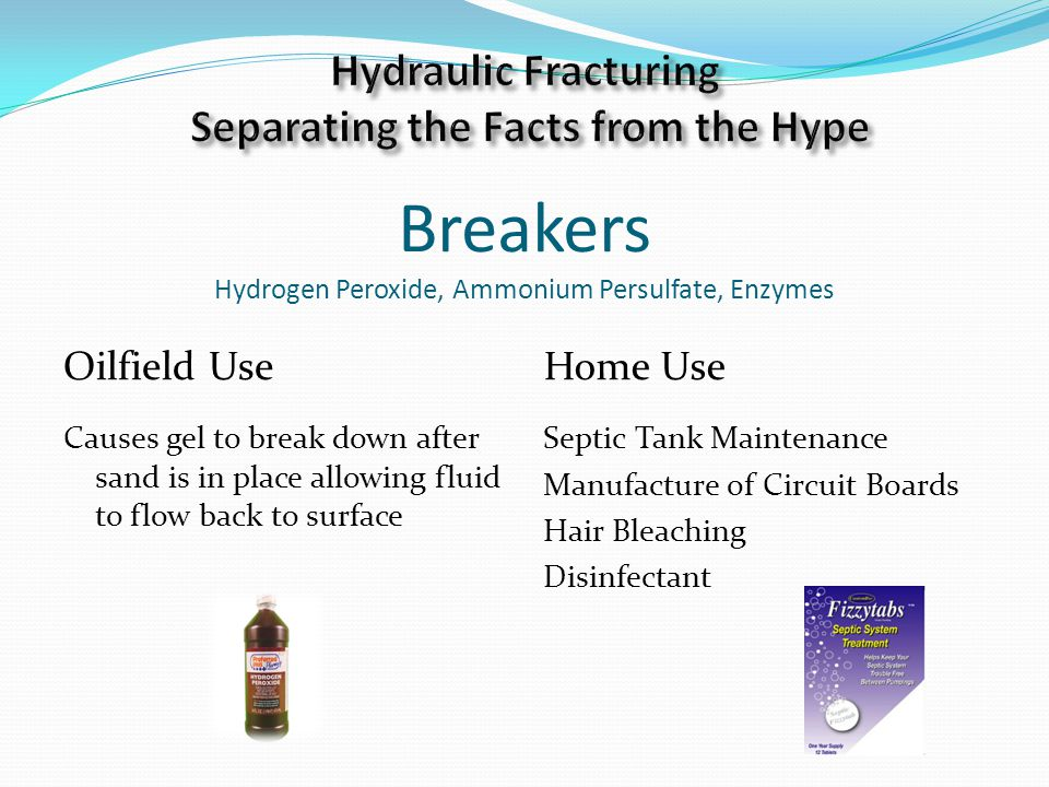 Breakers Hydrogen Peroxide, Ammonium Persulfate, Enzymes