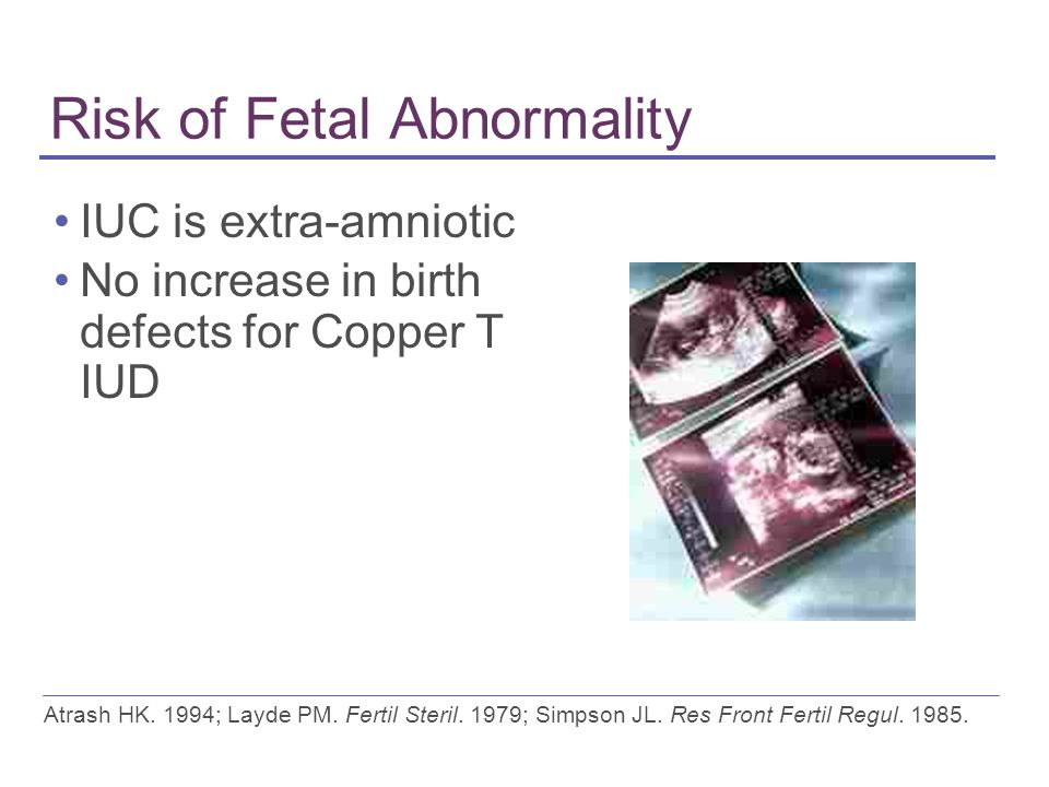 Risk of Fetal Abnormality