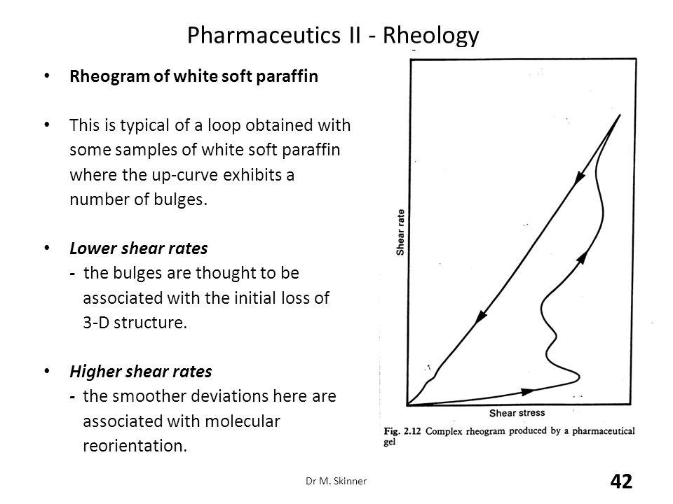 Pharmaceutics II - Rheology