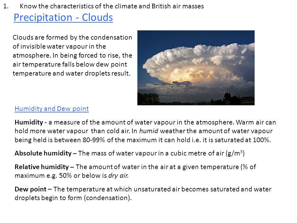 Precipitation - Clouds