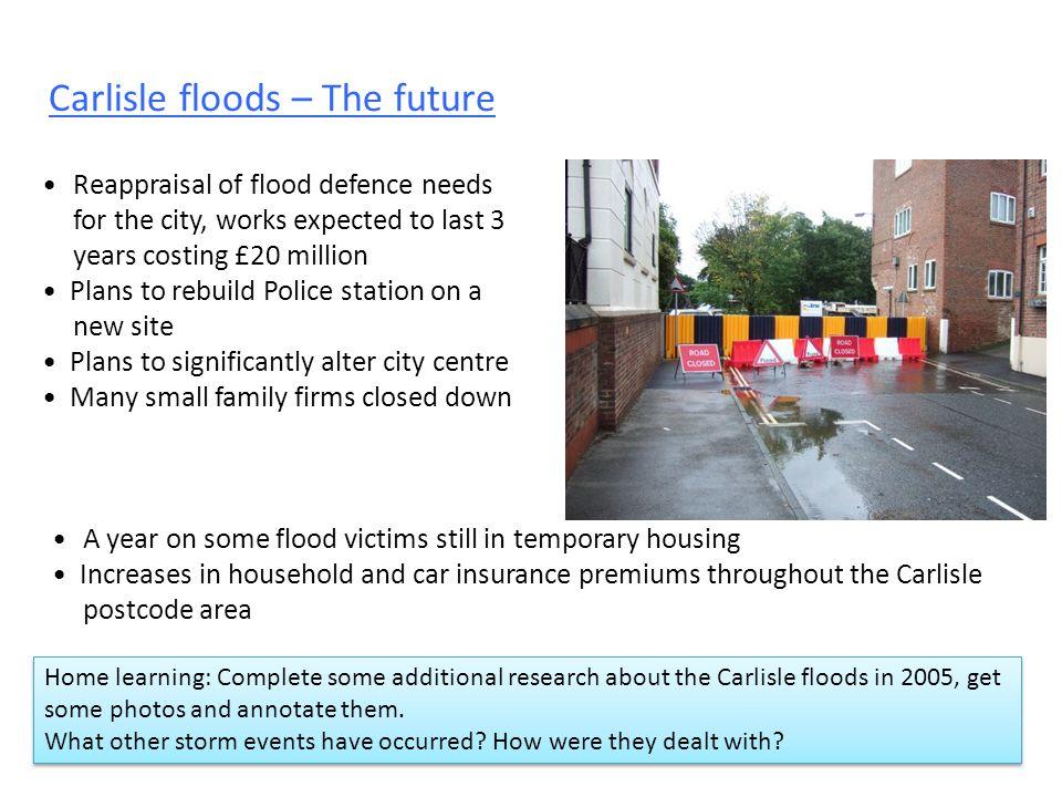 Carlisle floods – The future