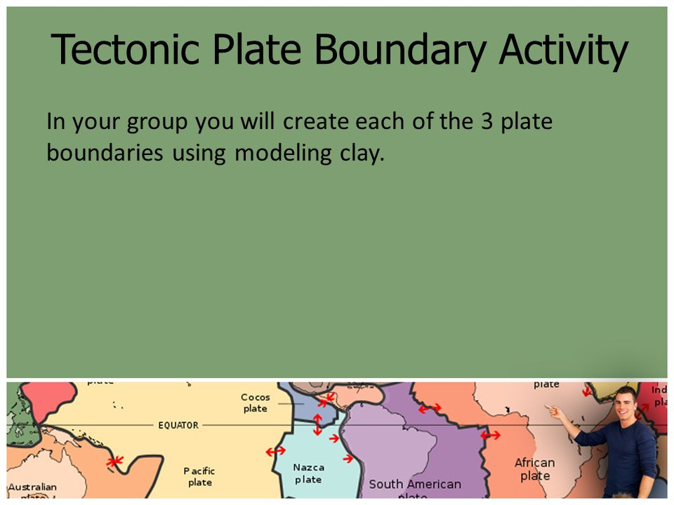Tectonic Plate Boundary Activity