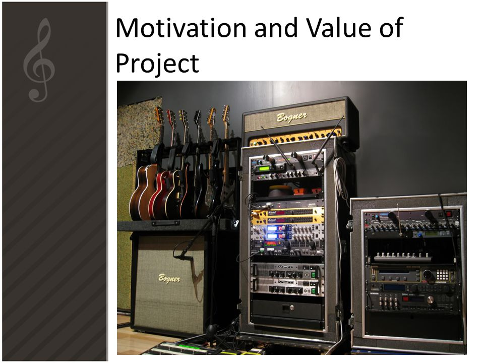 Motivation and Value of Project