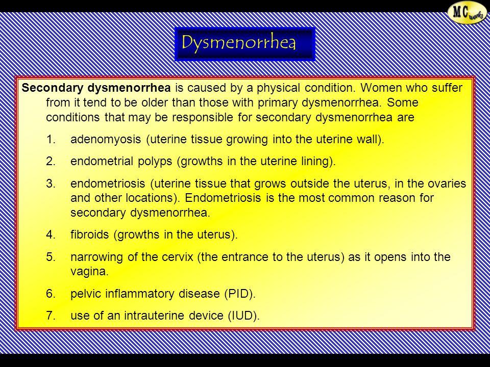 Dysmenorrhea
