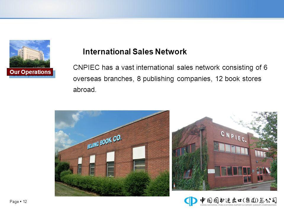 International Sales Network