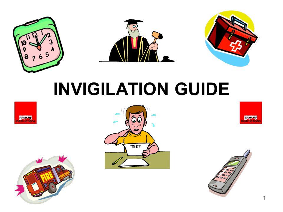 INVIGILATION GUIDE