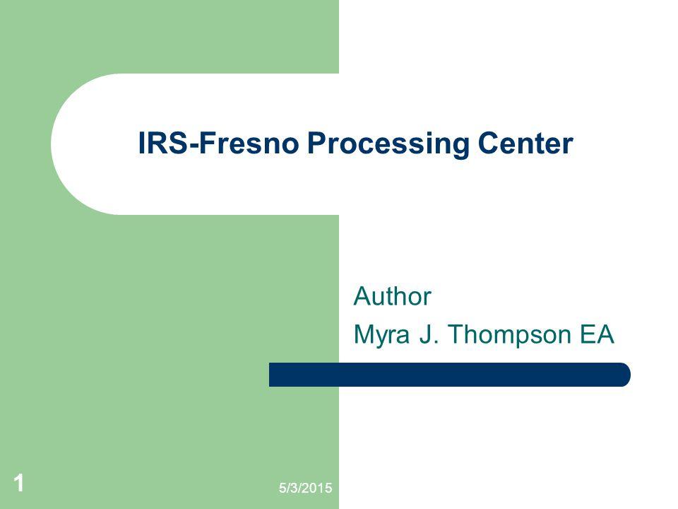 IRS-Fresno Processing Center