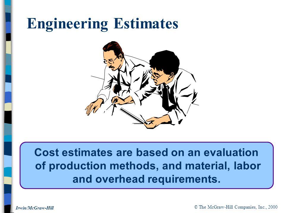Engineering Estimates