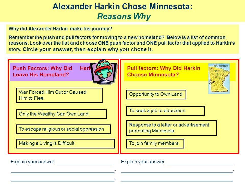 Alexander Harkin Chose Minnesota: Reasons Why