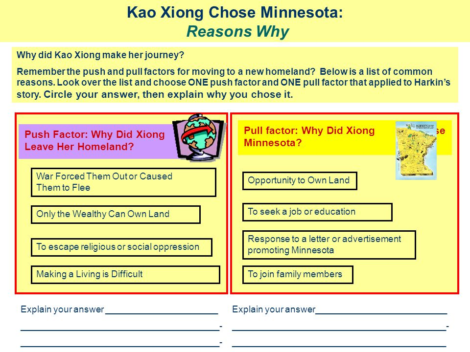 Kao Xiong Chose Minnesota: Reasons Why