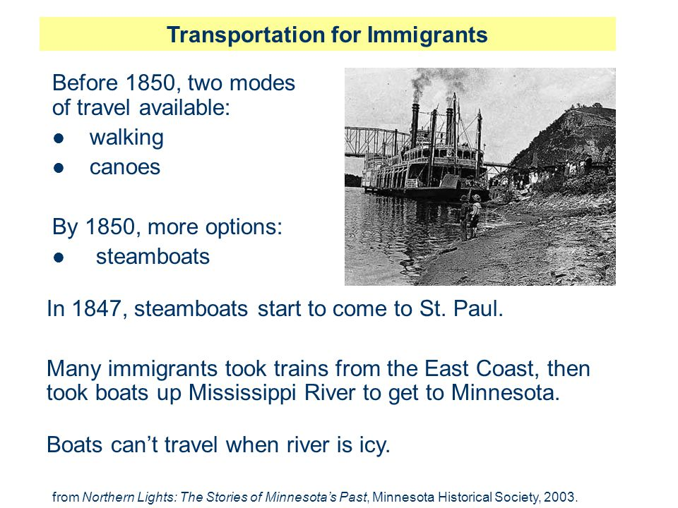 Transportation for Immigrants